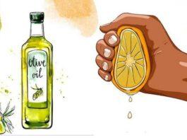 Все, что вам нужно сделать, это смешать оливковое масло с лимонным соком и рецепт долголетия готов!