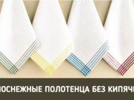Супер-способ отбеливания полотенец БЕЗ кипячения и стиральной машинки!