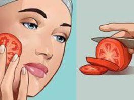Если потереть свежим помидором ваше лицо в течение 3 секунд, эффект будет невероятный!