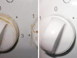 Жаль, что я не знал этого раньше! Как легко очистить ручки плиты. Тебе понадобится 1 бюджетное аптечное средство!
