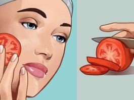 Помести кусочек помидора на лицо и подожди 1 час. С кожей произойдет удивительная перемена!