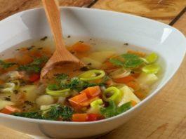 Этот суп способствует очищению организма! Вес уменьшается, а здоровье укрепляется